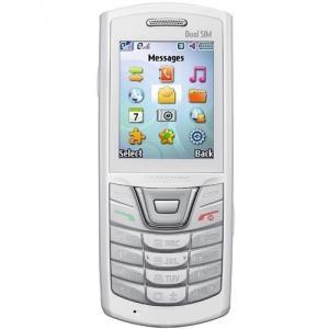 Samsung e2152 dual sim white