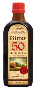 BITTER 50 PLANTE CU GANODERMA 500ml DACIA PLANT