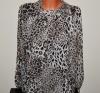 Bluza cu imprimeu leopard
