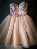 Rochie clos cu imprimeu floral sweet pink