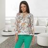 Bluza cu model floral ruxandra
