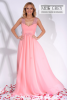 Rochie lunga roz quart scarlett