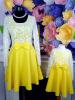 Set rochii mama-fiica sara cu dantela