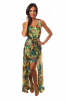 Rochie lunga imprimeu floral clarice