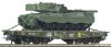 Vagon platforma transport greu ho, roco 67762