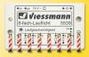 Set 8 stilpi delimitare drum in lucru ho, viessmann