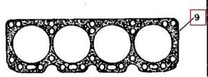 R99080 - Garnitura Chiulasa Ø 100 mm