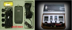 Senzori parcare + kit xenon(single) pt. masina ta - 349.00RON