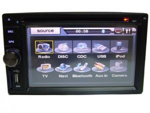 DVD Player Auto cu Bluetooth TV si Navigatie Full Europe Q.6201