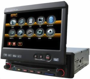 DVD Player Auto cu Bluetooth TV si Navigatie Full Europe Q.9301