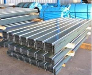 Tabla zincata cutata H12 0.8x1000 mm (900 mm) x 2000