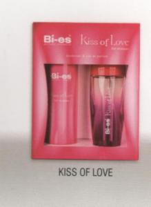 BI-ES, caseta cadou Kiss of Love