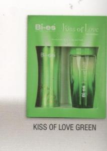 BI-ES, caseta cadou Kiss of Love Green
