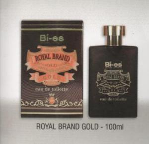 BI-ES, apa de toaleta Royal Brand Gold