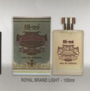 BI-ES, apa de toaleta Royal Brand Light