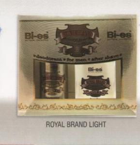 BI-ES, caseta cadou Royal Brand Light
