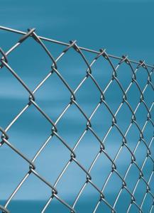 Plasa de gard zincata impletita