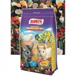Hrana pentru Chinchilla Darwin&#039 s Premium Herbal 750 g