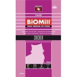 Biomill Cat Chicken hrana uscata pentru pisici adulte