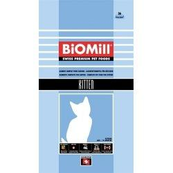 Biomill Cat Kitten hrana uscata pentru pisici junioare