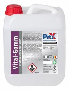 Solutie refresh cauciuc si plastic VITAL-GOMM bidon 5L