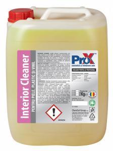 Solutie pentru curatat piele, plastic si vinil, INTERIOR CLEANER bidon 5kg