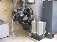 Generator de aer cald mobil pe ulei uzat