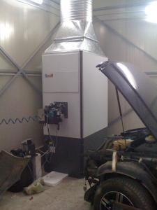 Generatoare aer cald cu functionare pe ulei ars