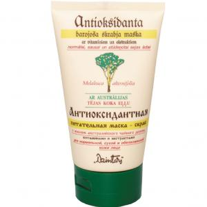 Masca-scrub nutritiva antioxidanta pentru ten normal,uscat,deshidratat