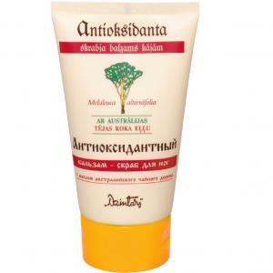 Balsam-scrub antioxidant pentru picioare