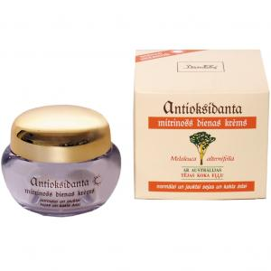 Crema hidratanta antioxidanta de zi pentru ten normal si mixt