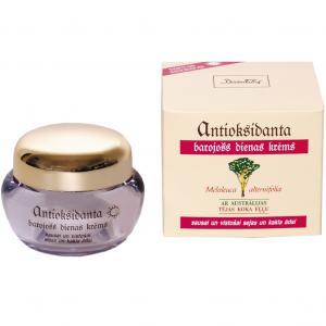 Crema hidratanta antioxidanta de zi pentru ten uscat,sensibil si ofilit