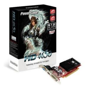 Power color ati radeon hd4650