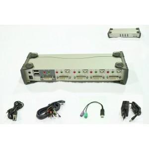 Distribuitor KVMP DVI 1/4, ATEN - CS1764