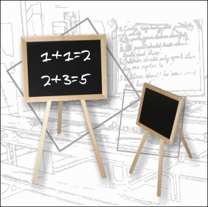 Jucarie din lemn-Tabla de scris
