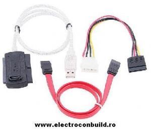 Adaptor USB - IDE 3.5+2.5inch+SATA