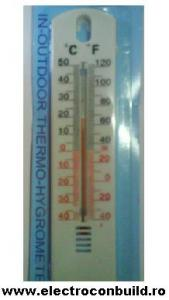 Termometru de interior si exterior