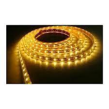Banda cu LED-uri de 5 m flexibila -  culoare galbena