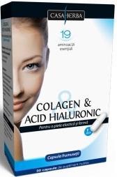 Colagen si acid hialuronic