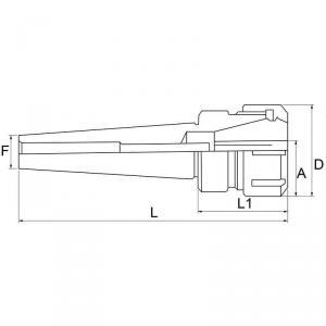 MADNRINA ELASTICA MK III/ ER32 M10
