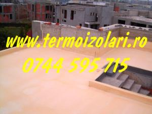 Spuma poliuretanica pentru izolatii termice