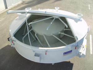 Mixer planetar pentru statie betoane