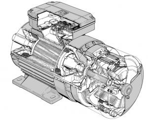 Motor cu rotor bobinat