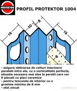 Profil colt interior tencuiala