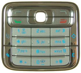 Tastatura nokia n73 argintie