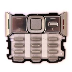 Tastatura nokia n82 argintie
