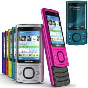 Nokia 6700 slide blue