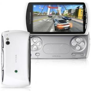 Sony ericsson xperia play white