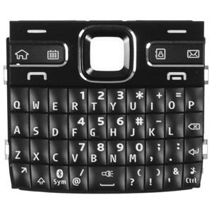 Tastatura nokia e72 neagra
