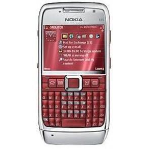 Nokia e71 red